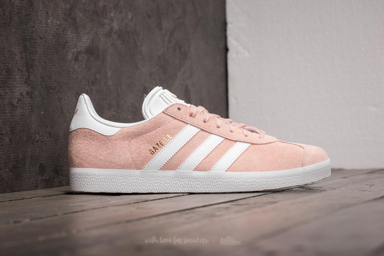 the best attitude 923a3 1f8ff Lyst - adidas Originals Adidas Gazelle Vapor Pinkwhitegold .