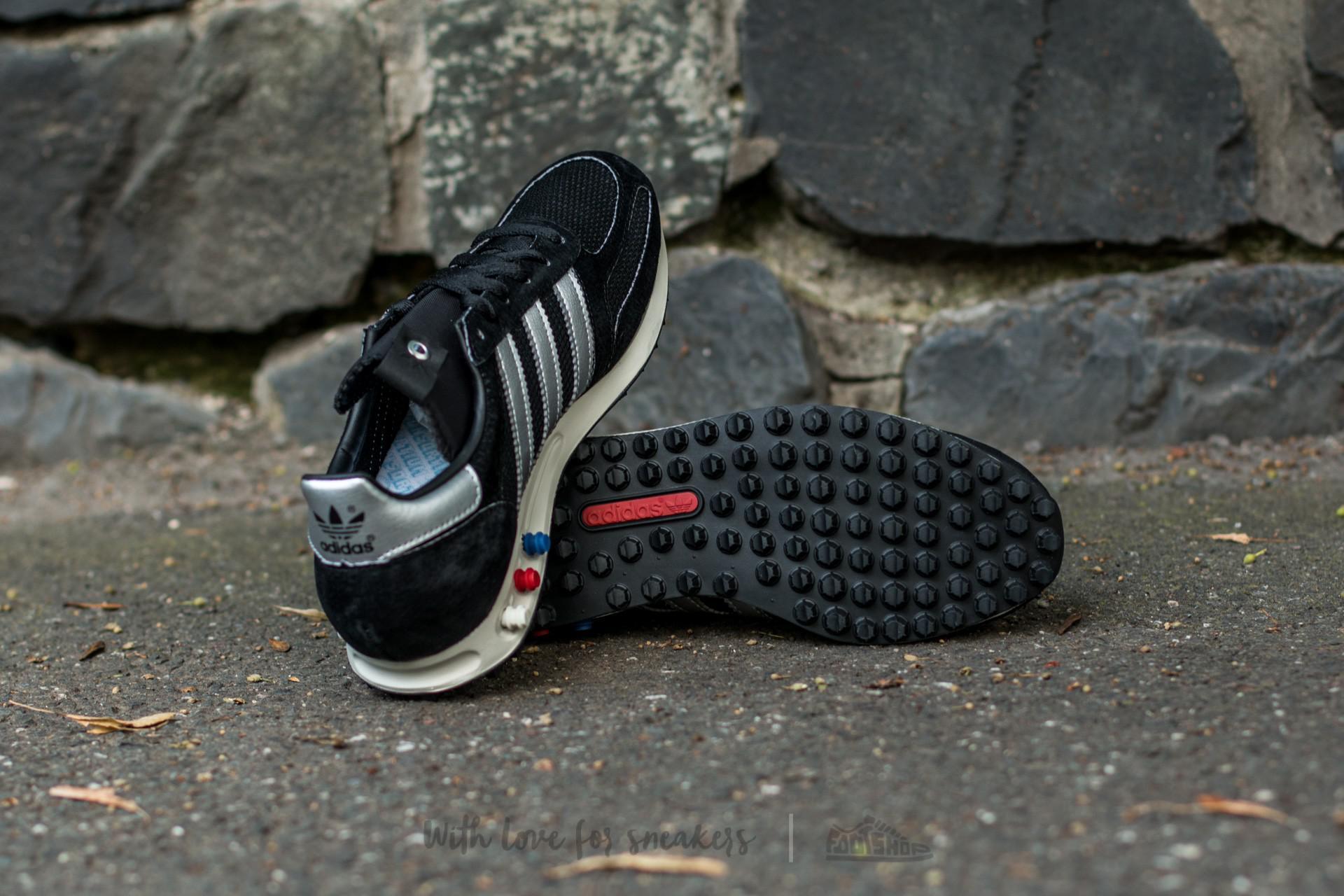 b0c7025e9ac66e Lyst - Footshop Adidas La Trainer Og Made In Germany Core Black ...
