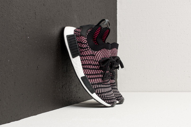 b03de58a950 Lyst - adidas Originals Adidas Nmd r1 Stlt Primeknit Core Black ...