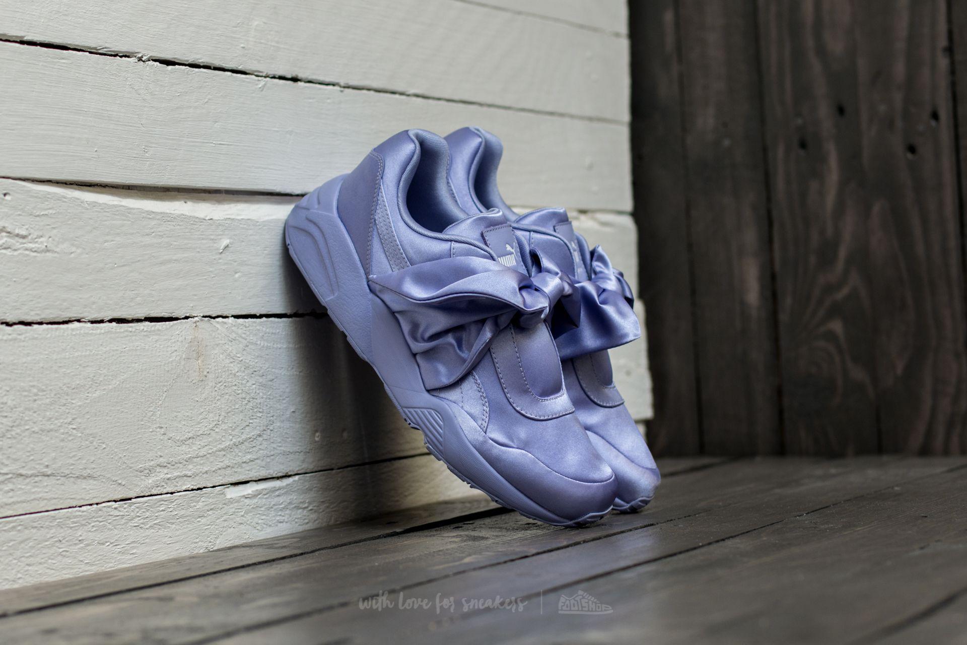 af2fb86278291b Lyst - Footshop Fenty X Rihanna Bow Sneaker Womens Sweet Lavender ...
