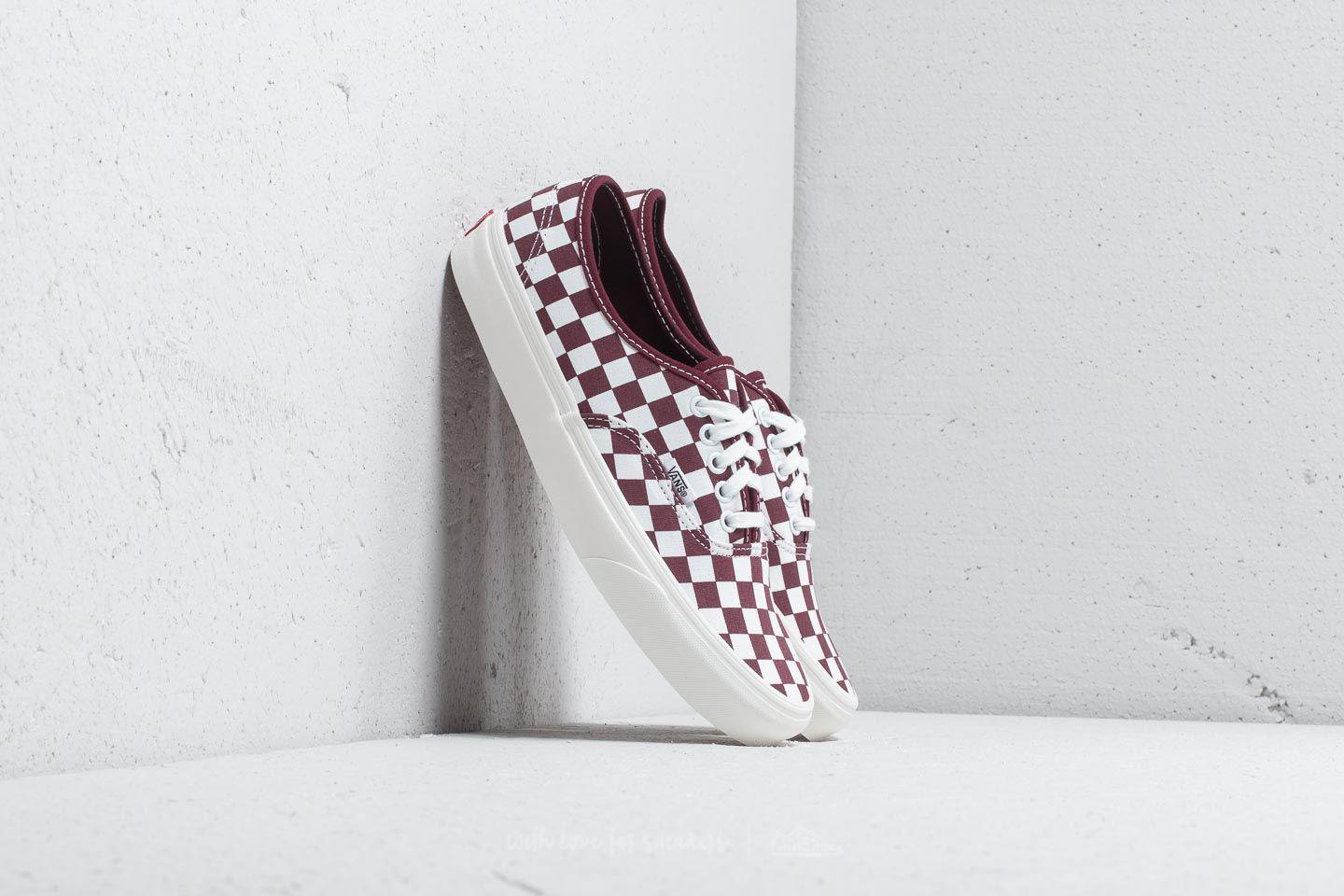 c698736b92 Lyst - Vans Authentic (checkerboard) Port Royal