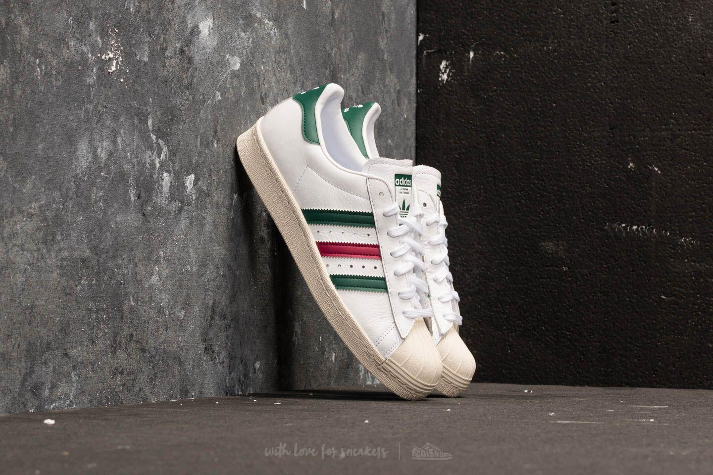 023de8d00e15 Lyst - adidas Originals Adidas Superstar 80s Ftw White  Collegiate ...