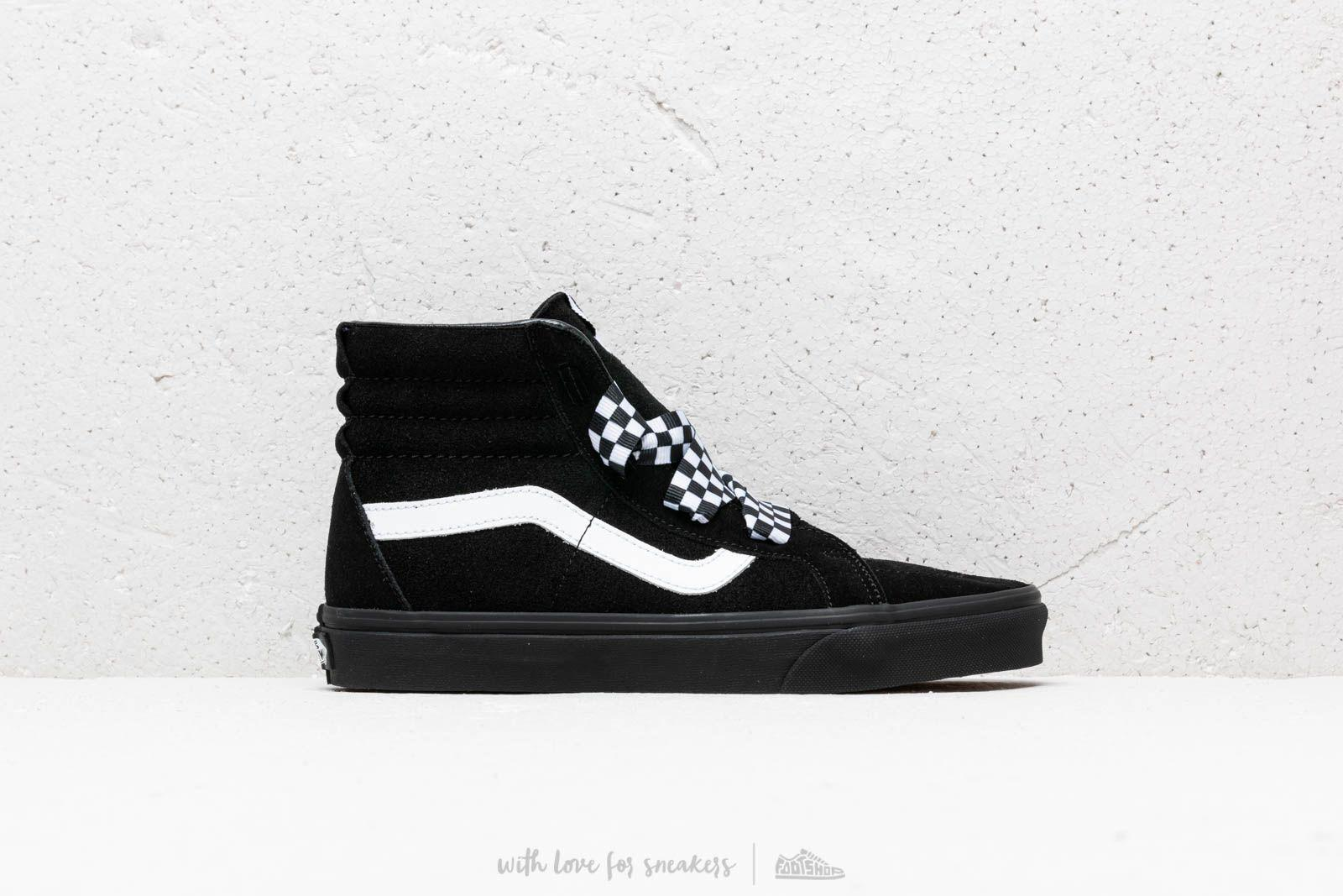 Lyst - Vans Sk8-hi Alt Lace (check Wrap) Black  Black in Black for Men c1f3972ee8ad