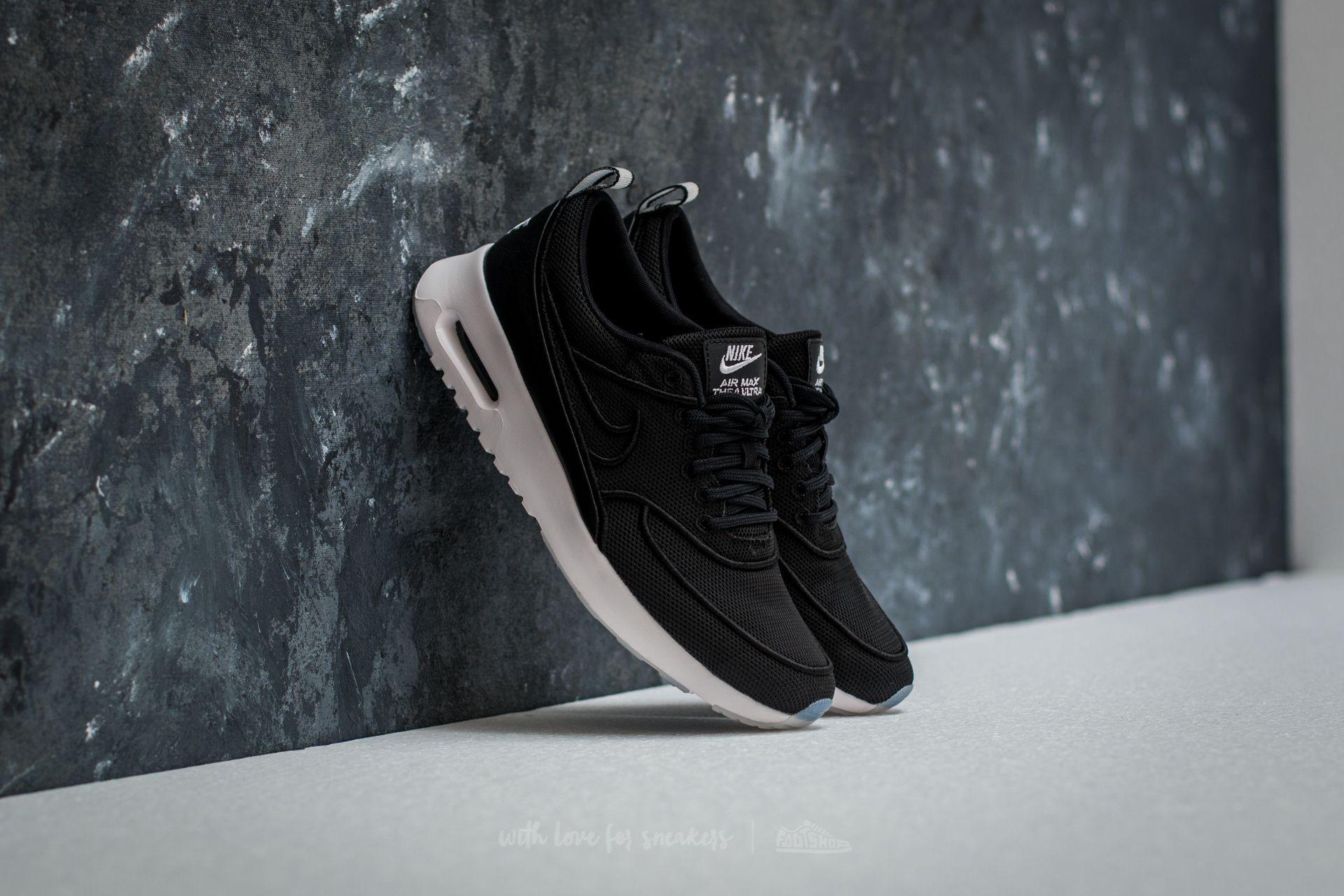 best service d5621 049f3 Lyst - Nike W Air Max Thea Ultra Si Black  Black-white-glacier Blue ...