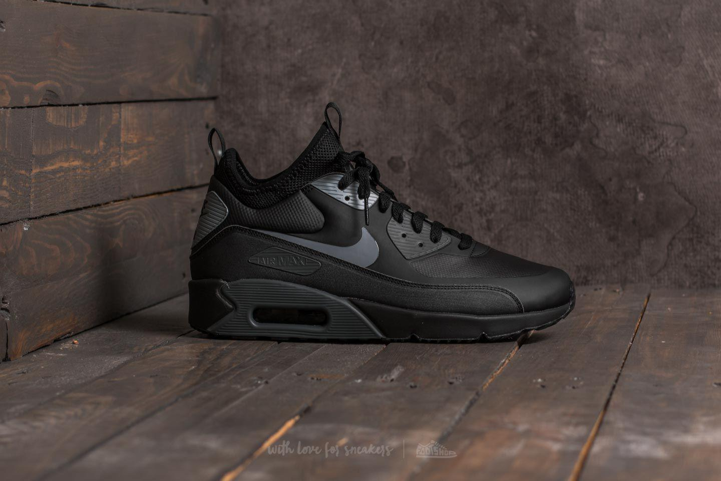 wholesale dealer edec2 f5b76 nike air max 90 mid winter black