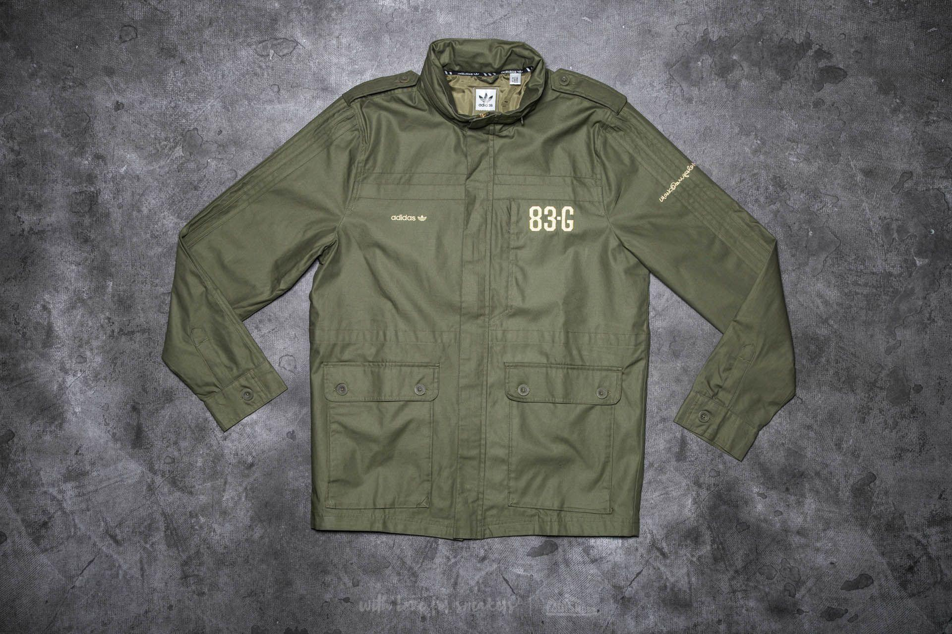2bd0fec13f10 Lyst - adidas Originals Adidas Field Jacket Olive Cargo in Green for Men