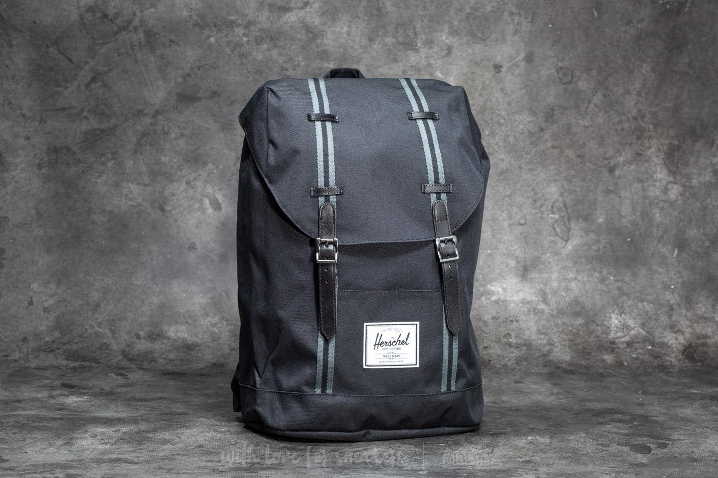 38eba0d81d Lyst - Herschel Supply Co. Retreat Backpack Black  Dark Shadow in ...