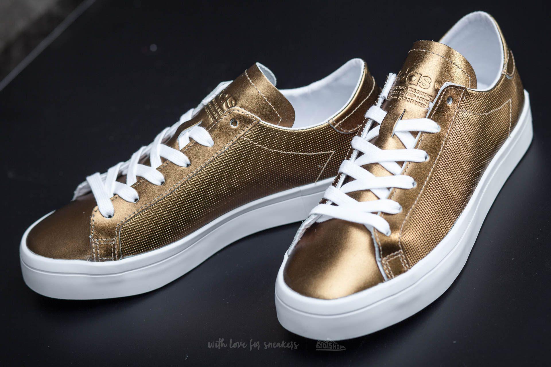buy online 2642e 10385 Lyst - adidas Originals Adidas Court Vantage W Copper Metall