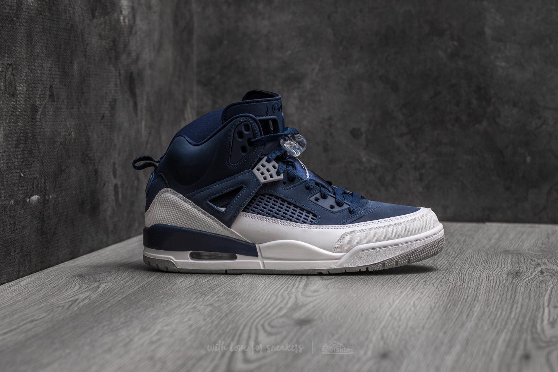 niska cena ekskluzywne oferty buty do biegania Nike Leather Spizike Midnight Navy/ Metallic Silver for Men ...