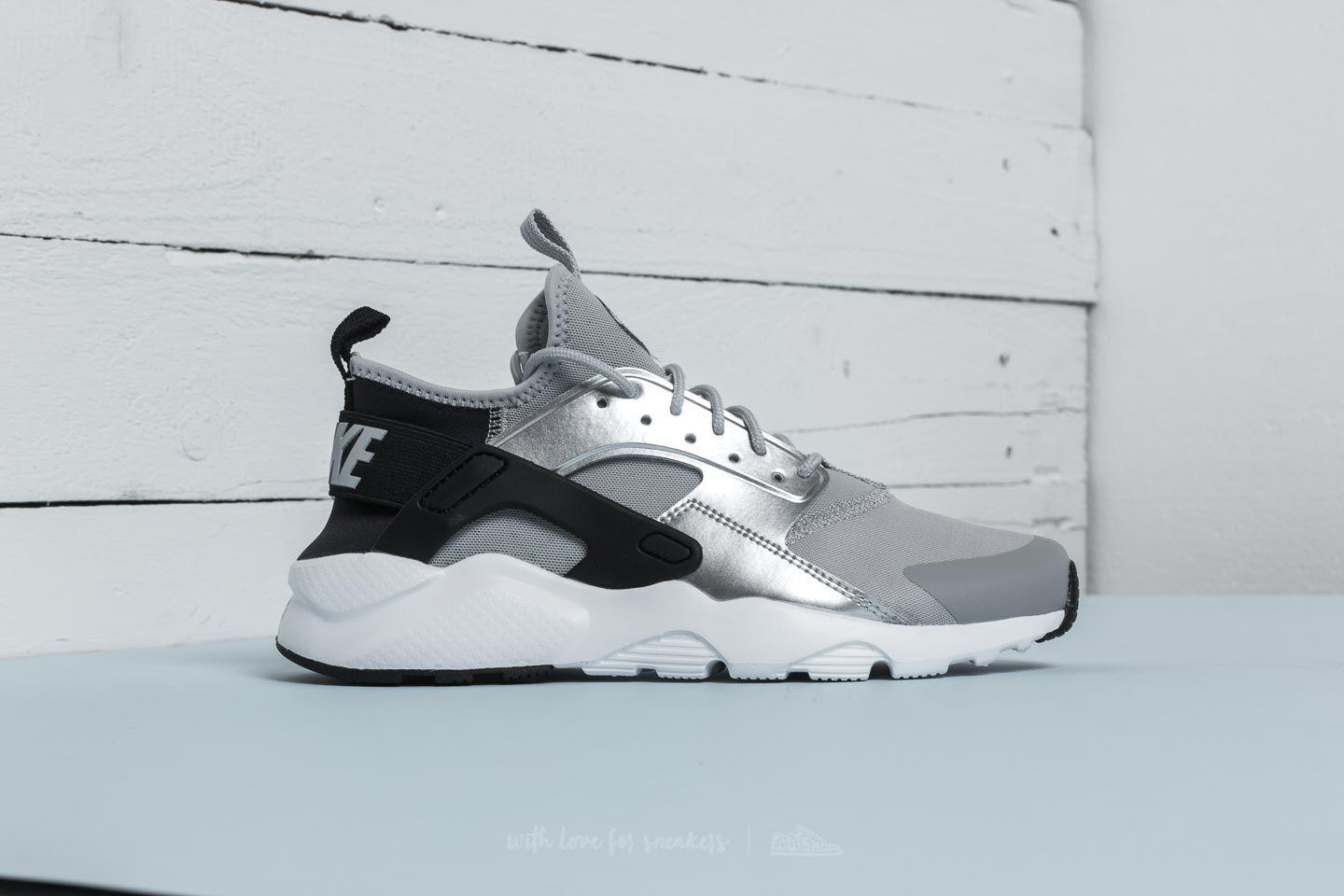 2e8012d8e05a Lyst - Nike Air Huarache Run Ultra Gs Black  Wolf Grey in Gray for Men