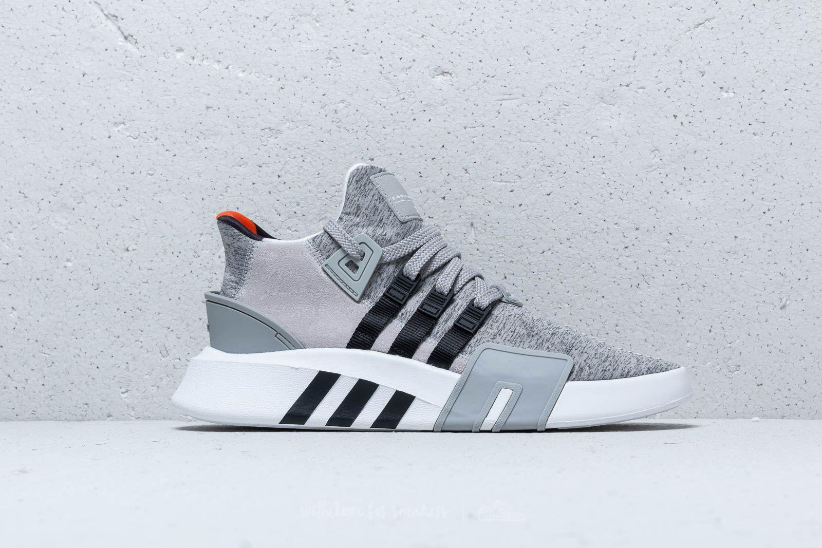 online store 45914 fdae7 Lyst - adidas Adidas Eqt Bask Adv Grey Two Core Black Ftw Wh
