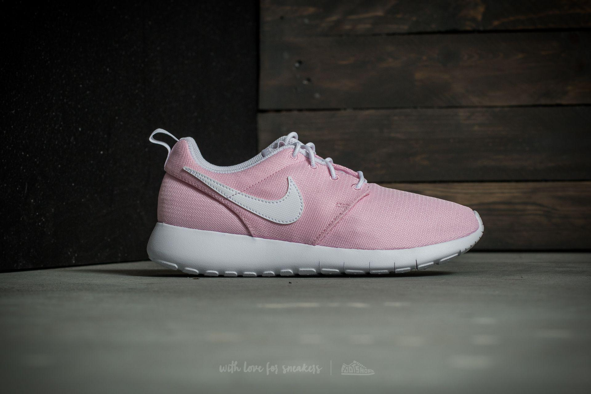 low priced 1d22c f3111 Lyst - Nike Roshe One (gs) Prism Pink  White-safety Orange in Pink