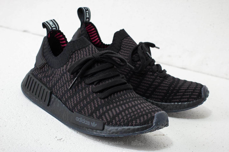 df38f4370 Lyst - adidas Originals Adidas Nmd r1 Stlt Primeknit Core Black ...