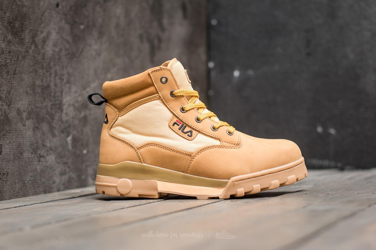 2d8f395b92c7 Lyst - Fila Grunge Mid Chipmunk for Men