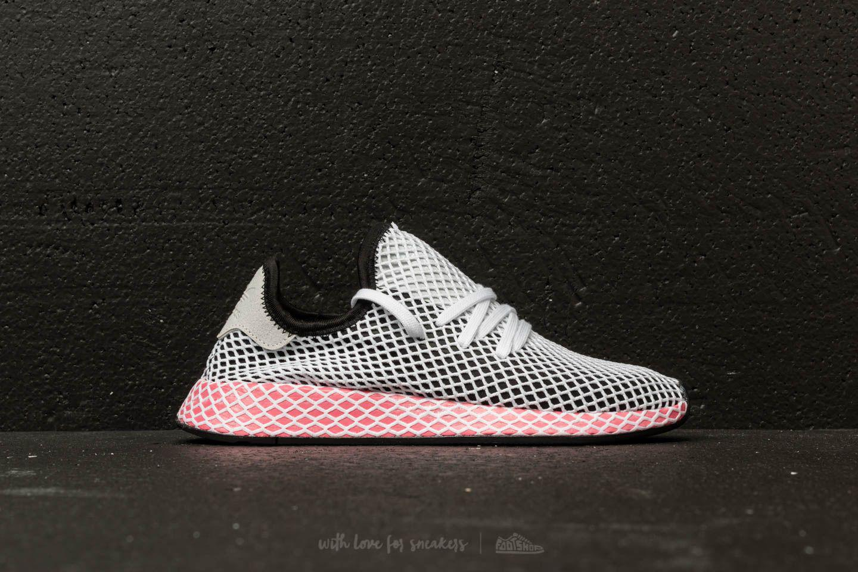 bb3209e1a6c3a ... closeout lyst adidas originals adidas deerupt runner w core black core  cc7f3 8b293