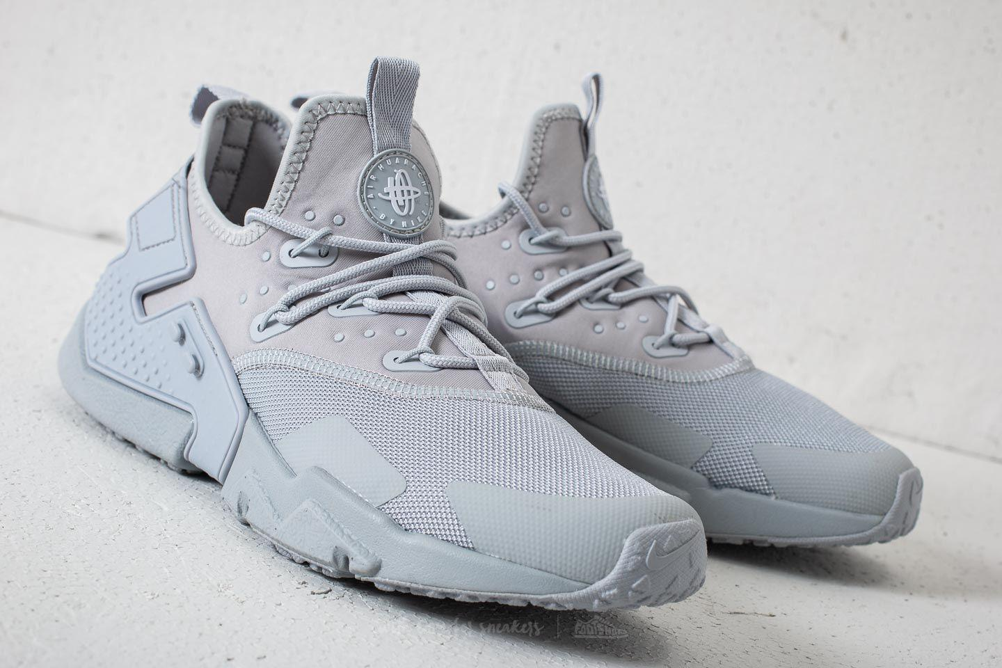 2eac5592877b Lyst - Nike Air Huarache Drift Wolf Grey  White in Gray for Men