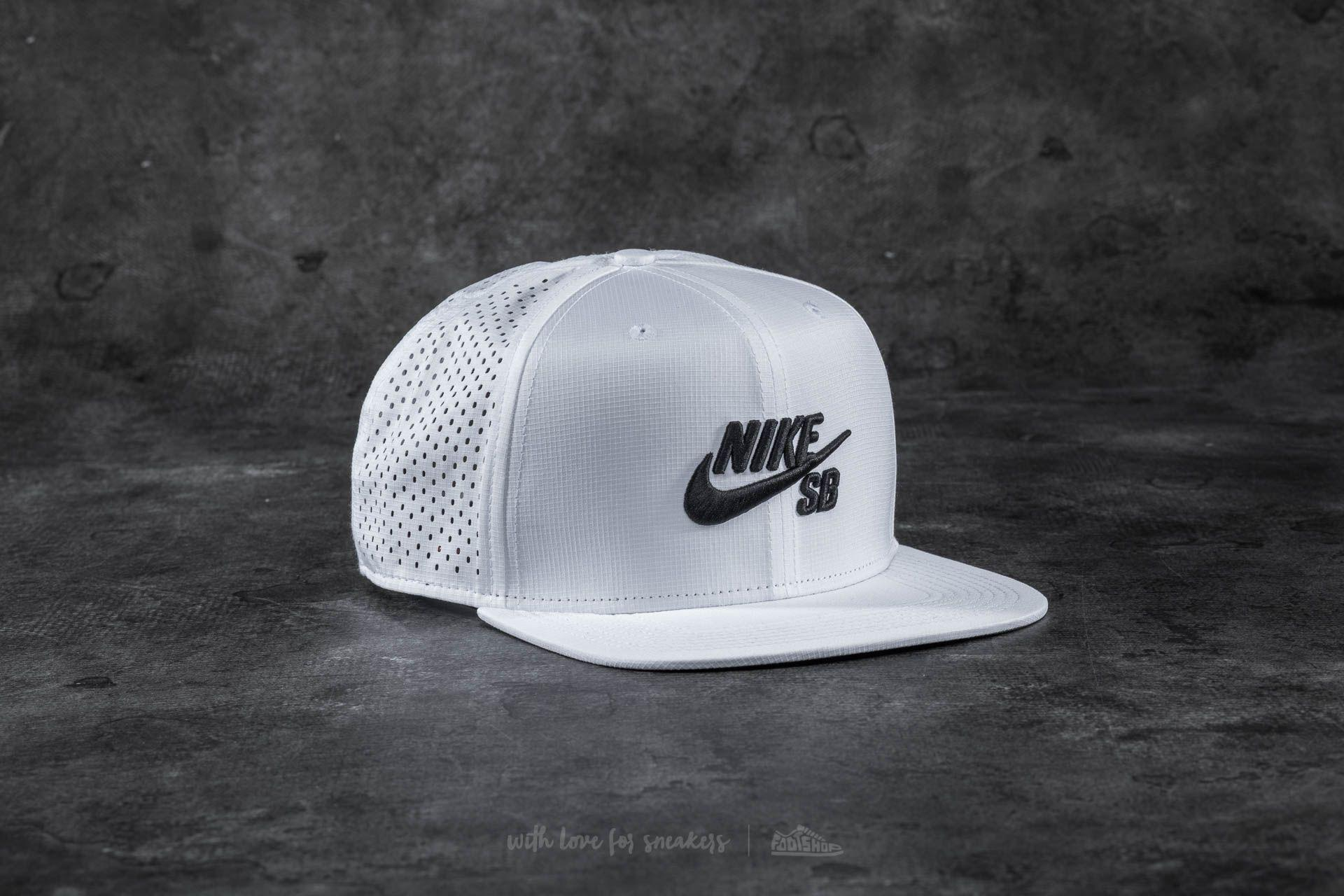 5c00edbaa7db2 ... hot lyst nike sb aero pro cap white for men bff0b 7a88c