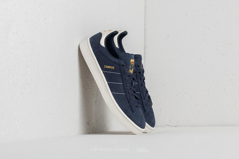 f07d5ba0e3ebde Lyst - adidas Originals Adidas Campus Trace Blue  Chalk White  Gold ...