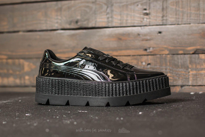 4adf0d318f7040 Lyst - Footshop Puma Fenty X Rihanna Pointy Creeper Patent Wn s Puma ...