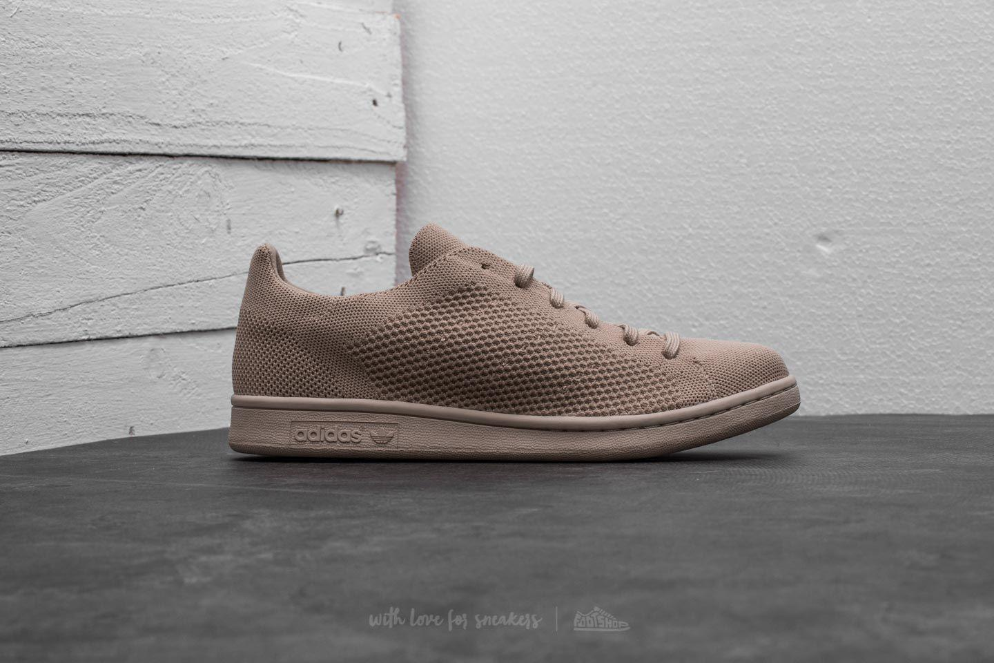 Lyst - adidas Originals Adidas Stan Smith Primeknit Clay Brown  Clay ... 99ad8ffe0