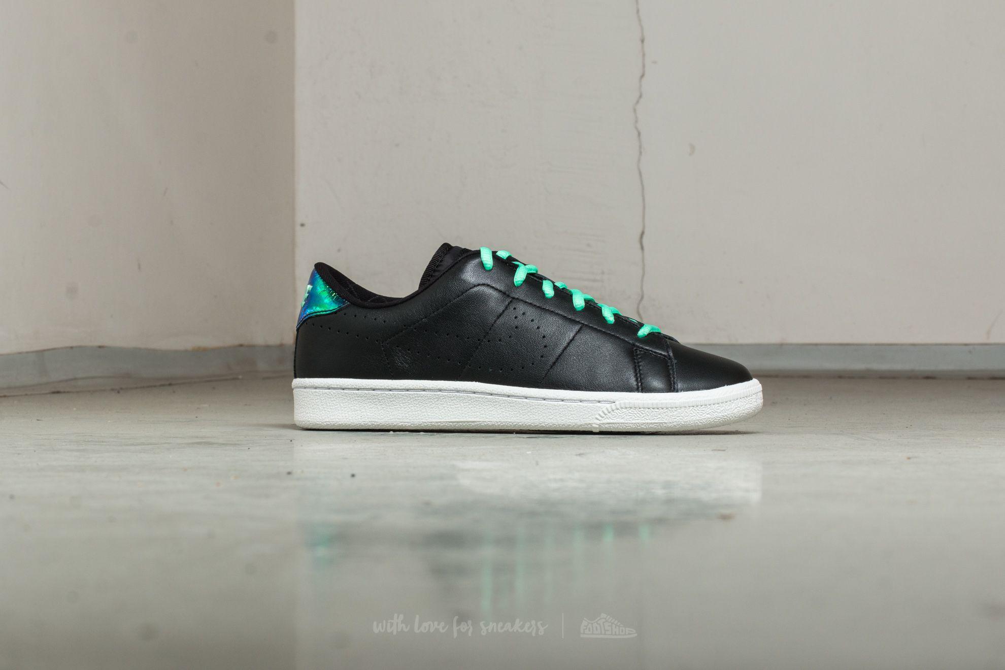 Nike | Tennis Classic Premium Se (gs) Anthracite/ Green/ Glow-white. View  Fullscreen
