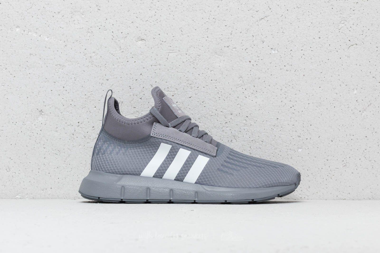 check out 8bc83 f0931 Lyst - Footshop Adidas Swift Run Barrier Grey  Ftw White  Grey Five ...