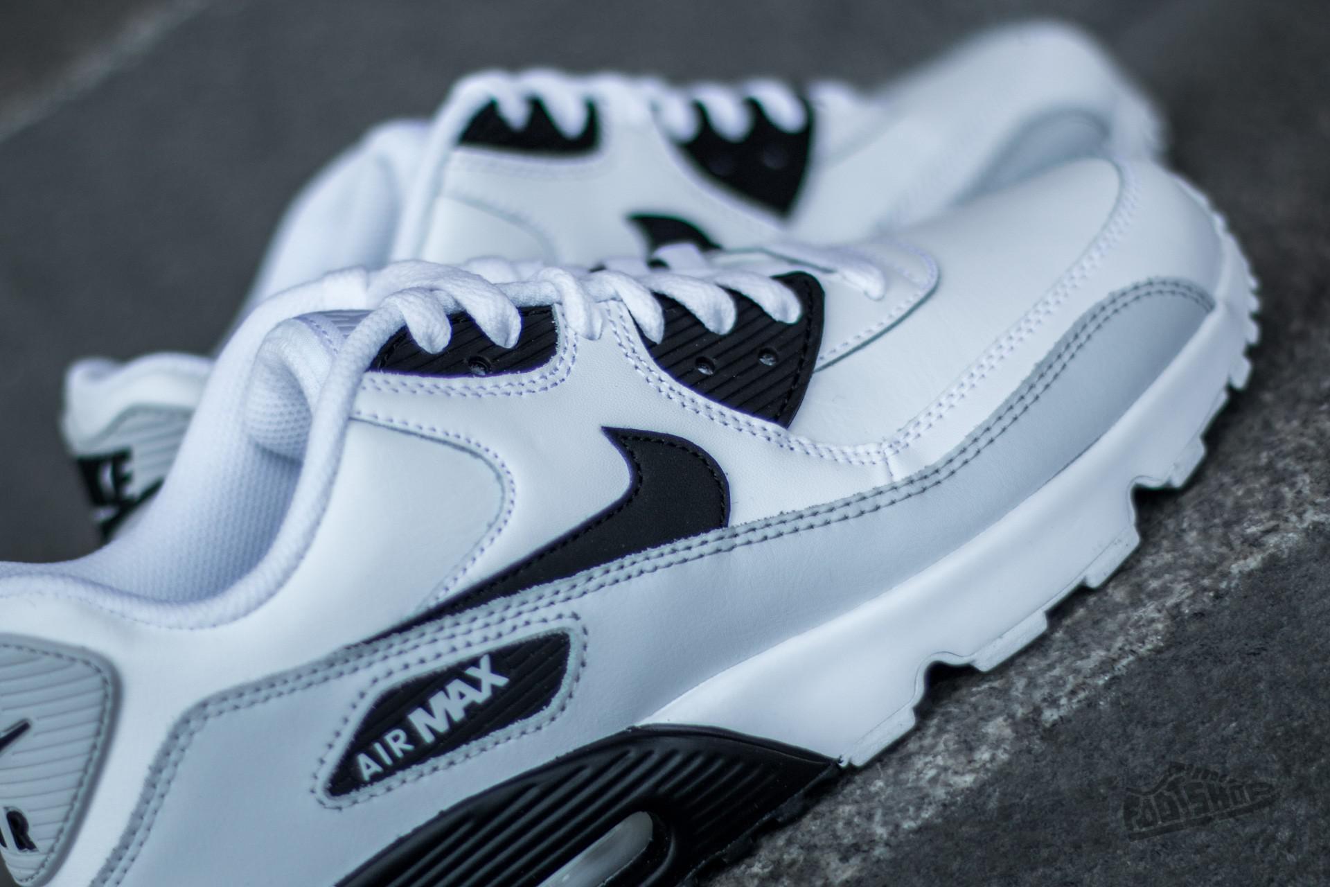 Lyst - Nike Air Max 90 Ltr (gs) White  Black-pure Platinum-white in ... 1e018859b