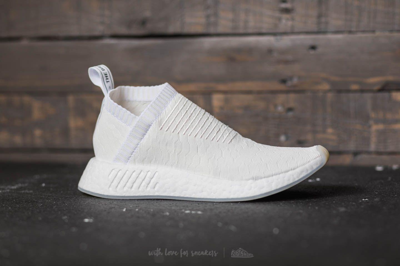 29c55bb0bd0c3 Lyst - adidas Originals Adidas Nmd cs2 Primeknit W Core White  Core ...