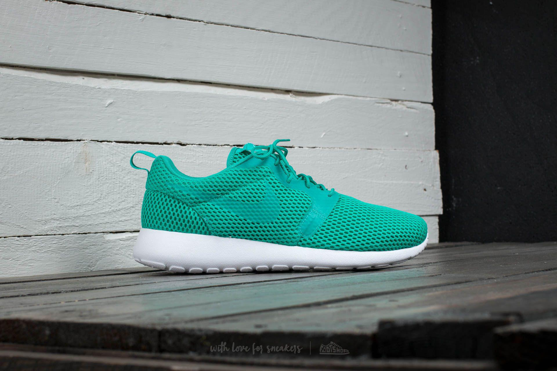 competitive price 6d767 cb2d5 Lyst - Nike Roshe One Hyp Br Clear Jade  Clear Jade-white