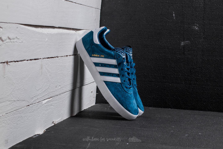 buy online 366c1 97300 Lyst - adidas Originals Adidas 350 Blue Night Ftw White Gold