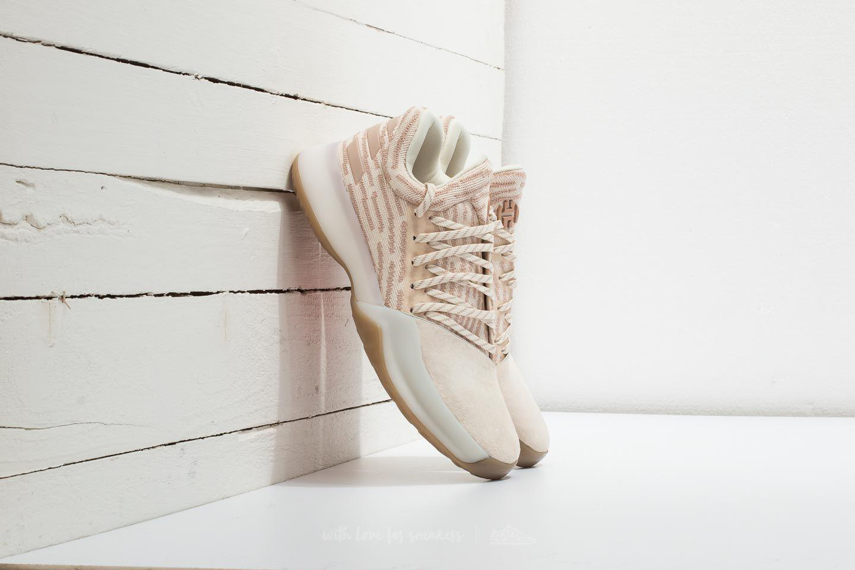 08d53cdf4284 ... ireland lyst footshop adidas harden vol. 1 primeknit beige chalk white  7f7dd fd563