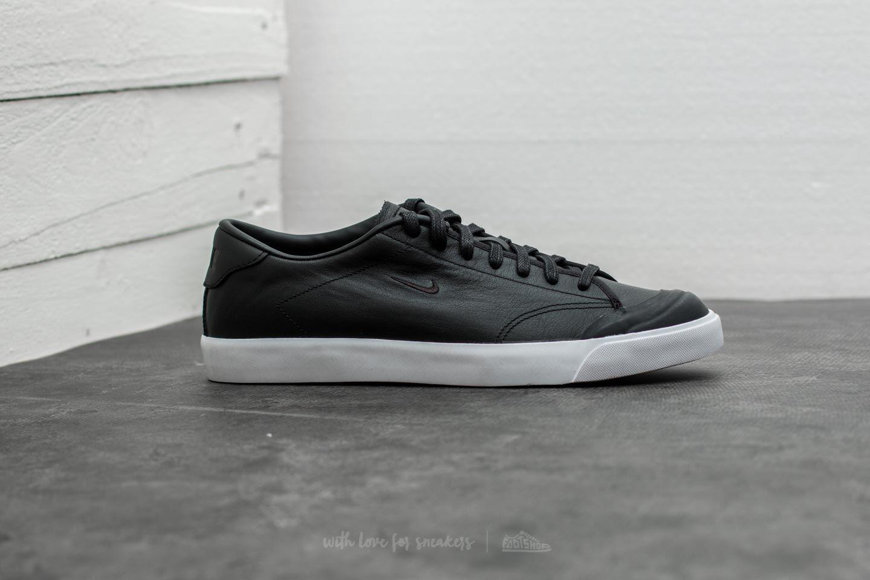 a3b341e4b8 Nike - All Court 2 Low Leather Black  Black-white for Men - Lyst. View  fullscreen