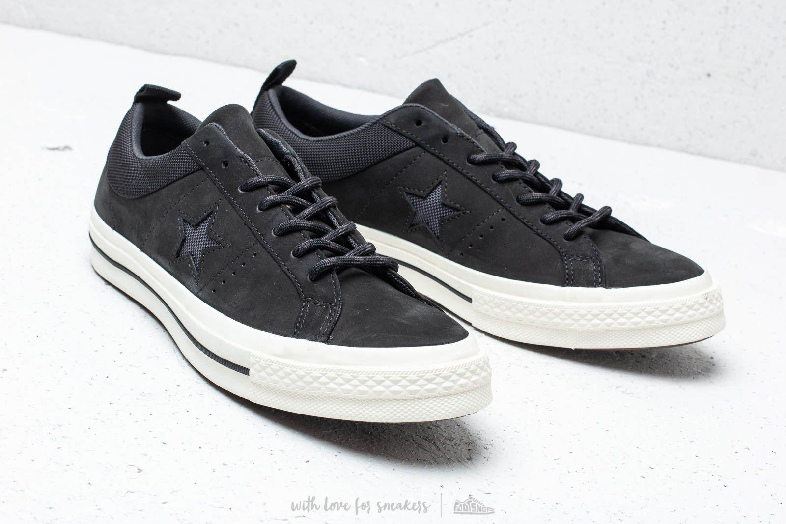 8dfc17701a4d99 Converse - One Star Ox Black  Almost Black  Black for Men - Lyst. View  fullscreen
