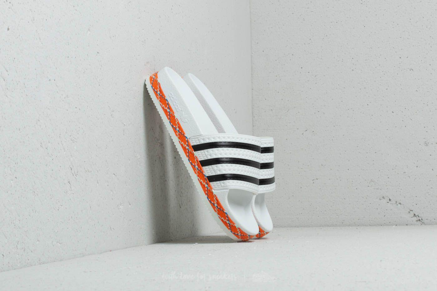 newest collection c1f38 c1878 adidas Originals. Womens Adidas Adilette New Bold W Ftw White Core Black  ...