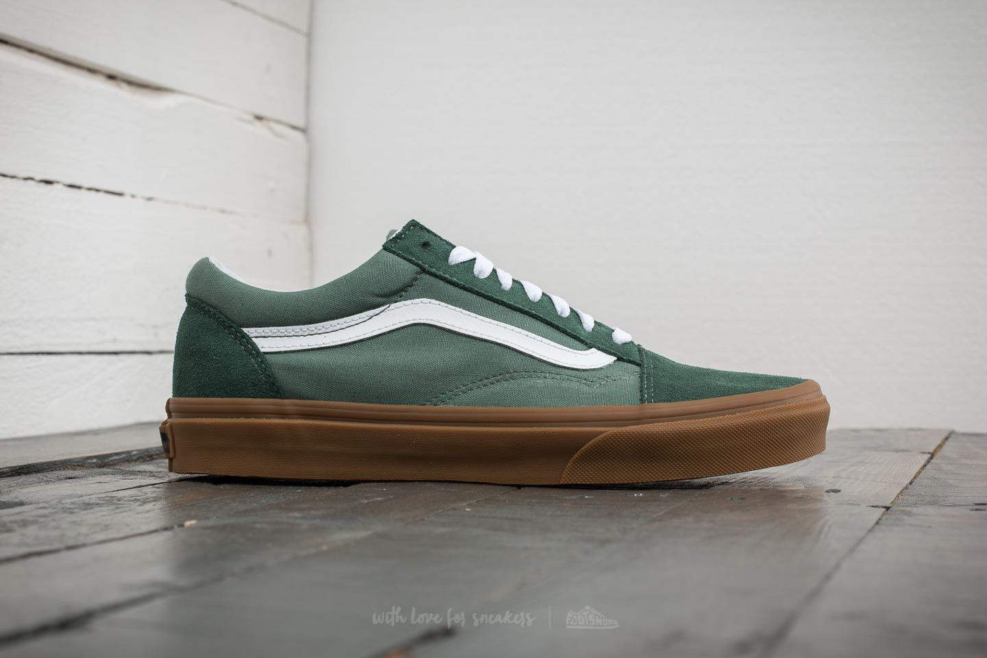 cff47b907b4 Lyst - Vans Old Skool Duck Green  Gum in Green for Men