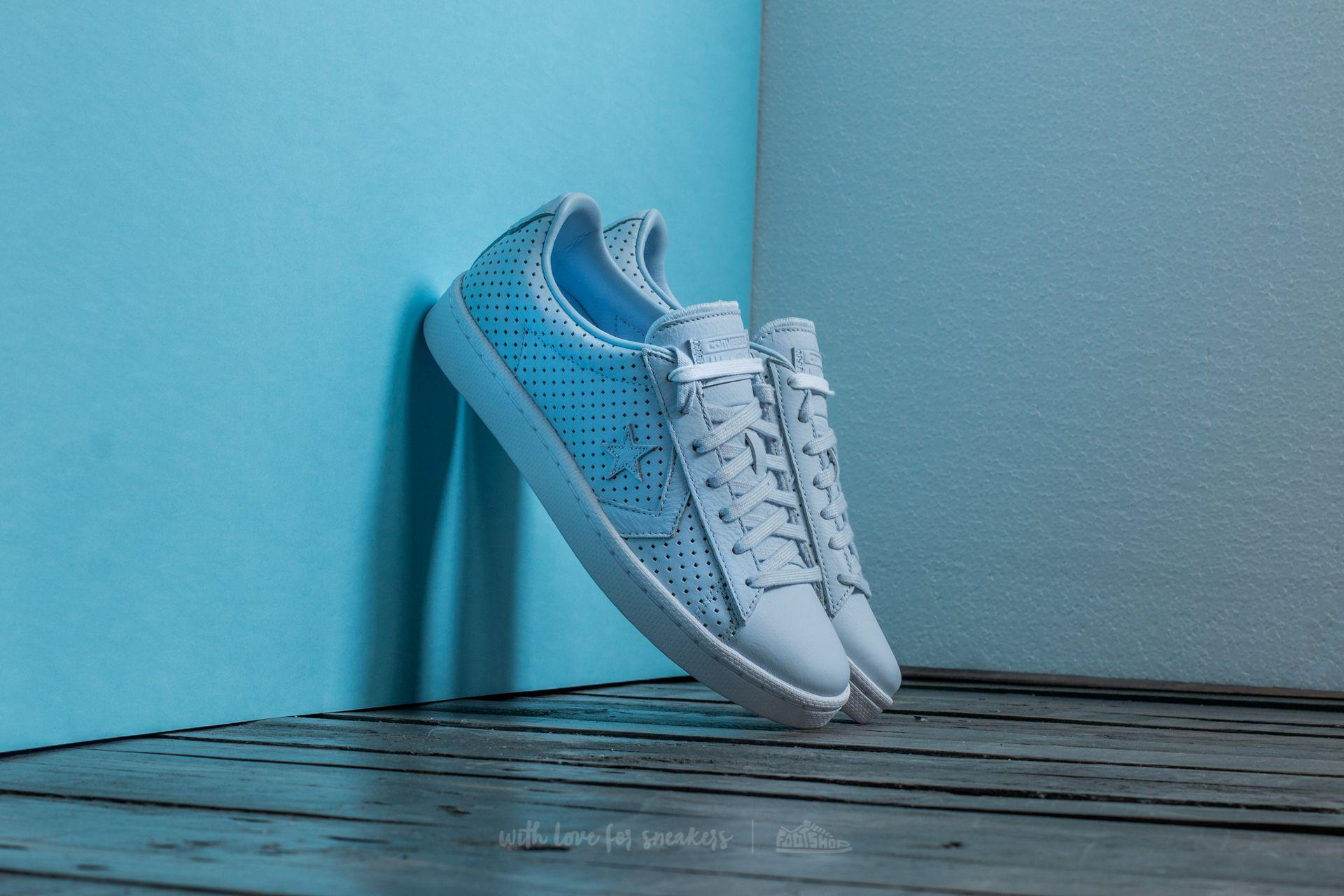 f5a5d8bc40ba Lyst - Converse Pro Leather 76 Ox Porpoise  Porpoise  White in Blue