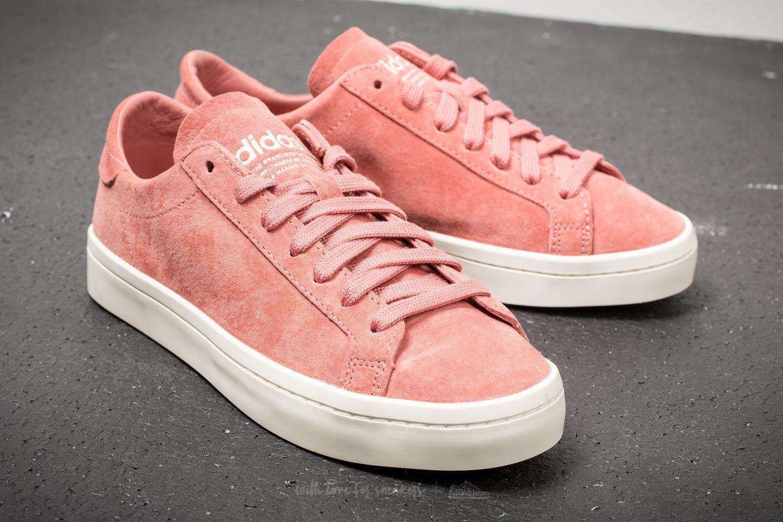 the best attitude a9960 3448e Lyst - adidas Originals Adidas Court Vantage W Ash Pink Off