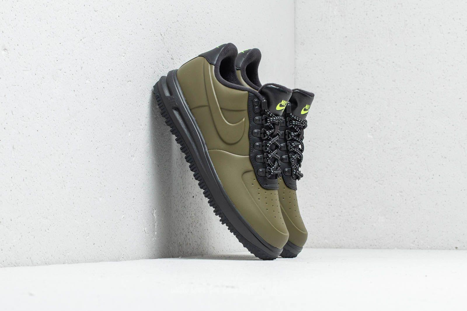 best loved 466cd 7fde9 Nike Lunar Force 1 Duckboot Low Olive Canvas  Olive Canvas in Green ...
