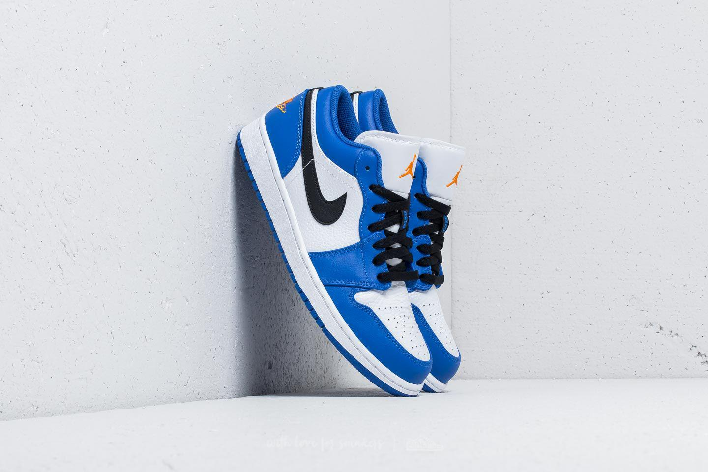 on sale dce39 74125 Nike Air 1 Low Hyper Royal  Orange Peel-white in Blue for Men - Lyst