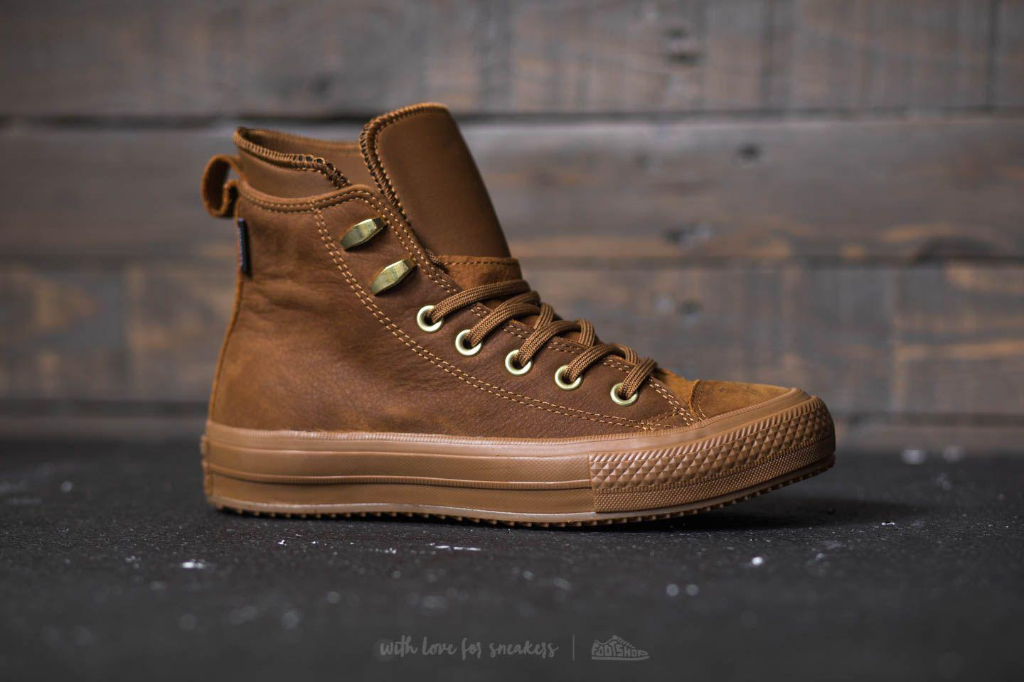Lyst - Converse Chuck Taylor All Star Waterproof Boot Hi Brown ... 8d25b93ec4a