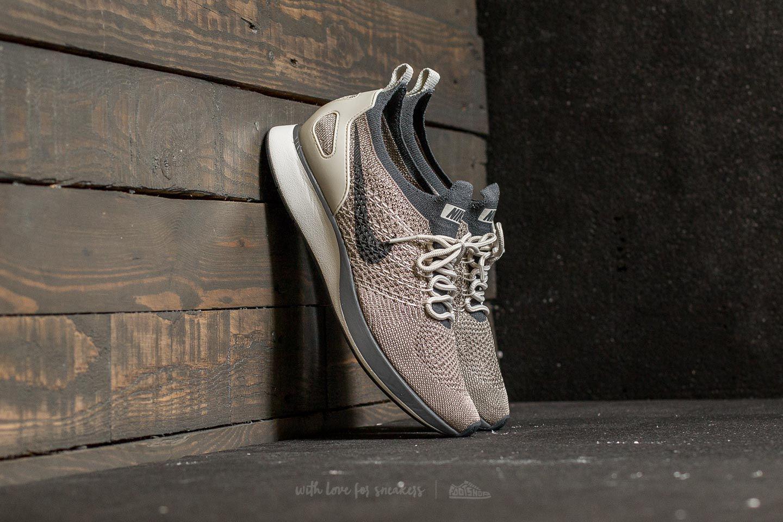 7680d52725fb Lyst - Nike W Air Zoom Mariah Flyknit Racer Pale Grey  Dark Grey in Gray