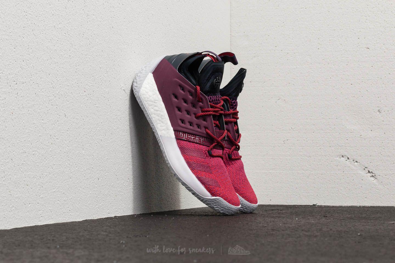 lyst footshop adidas harden 2 ardito rosso / luce solida grey