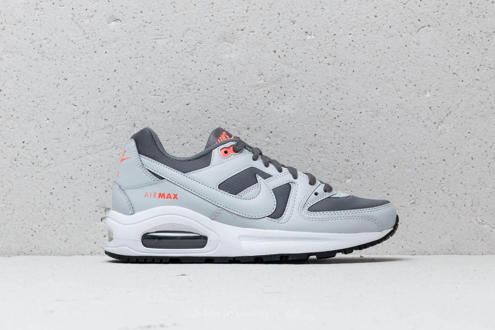 Nike Gray Air Max Command Flex (gs) Cool Grey Pure Platinum