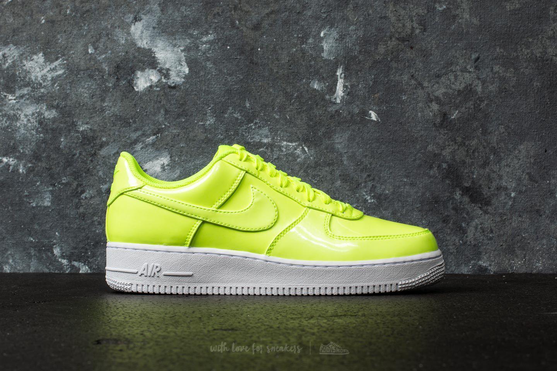 brand new 75ff4 49b7a Nike Air Force 1 07 Lv8 Uv Volt/ Volt-white-white in White for Men ...