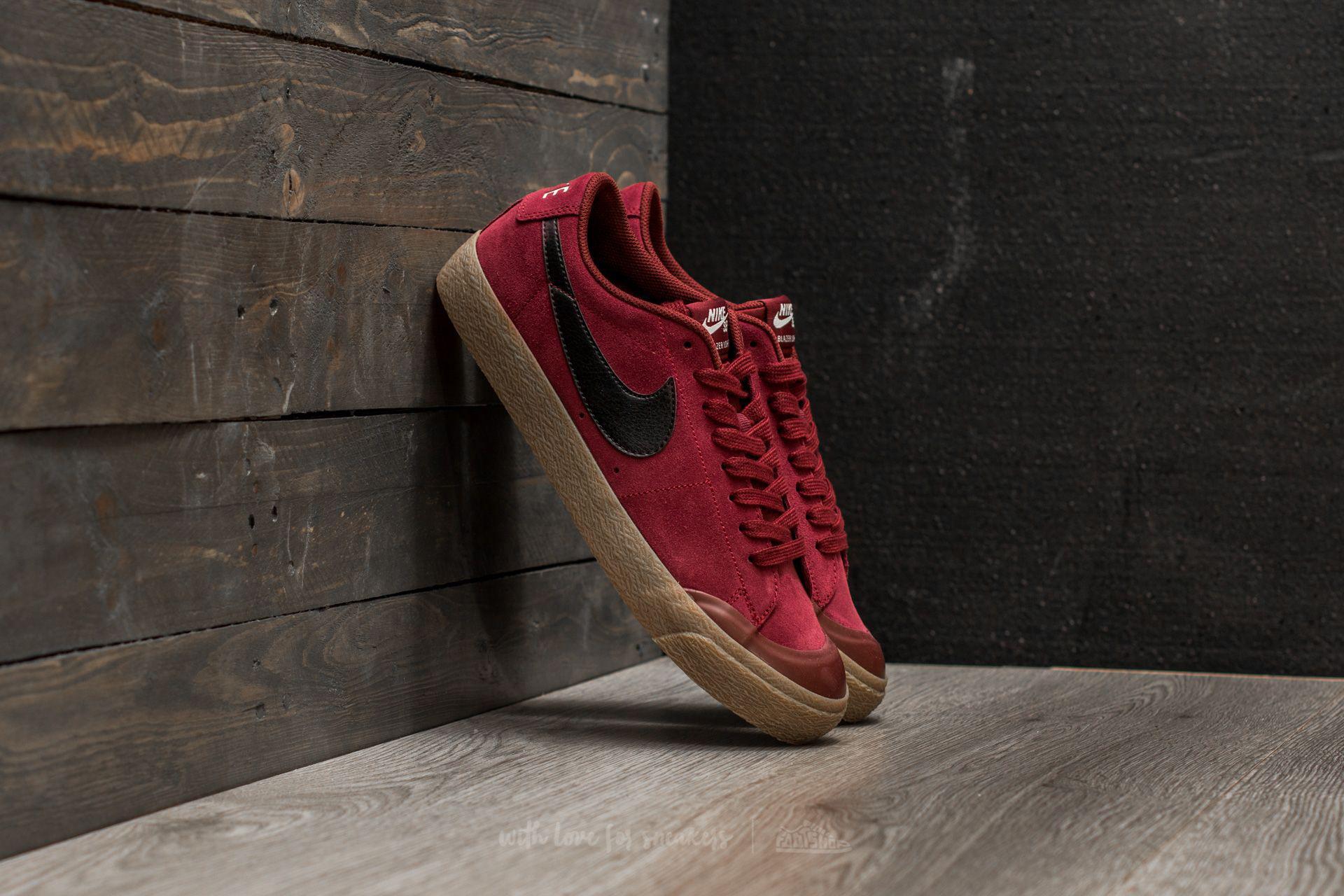 b87d7b7e2dd9d Lyst - Nike Sb Blazer Zoom Low Xt Dark Team Red  Black in Red for Men