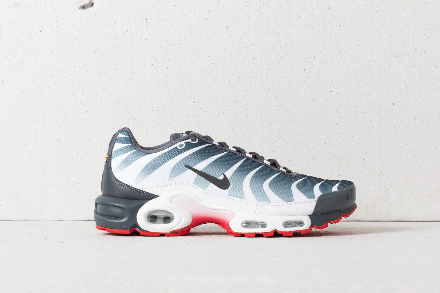 Nike Rubber Air Max Plus Tn Se White Dark Grey speed Red