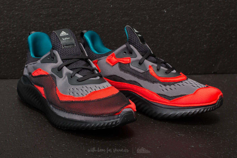 0c113a38fac1f Lyst - Footshop Adidas Alphabounce (kolor) Core Black  Grey Two  Hi ...