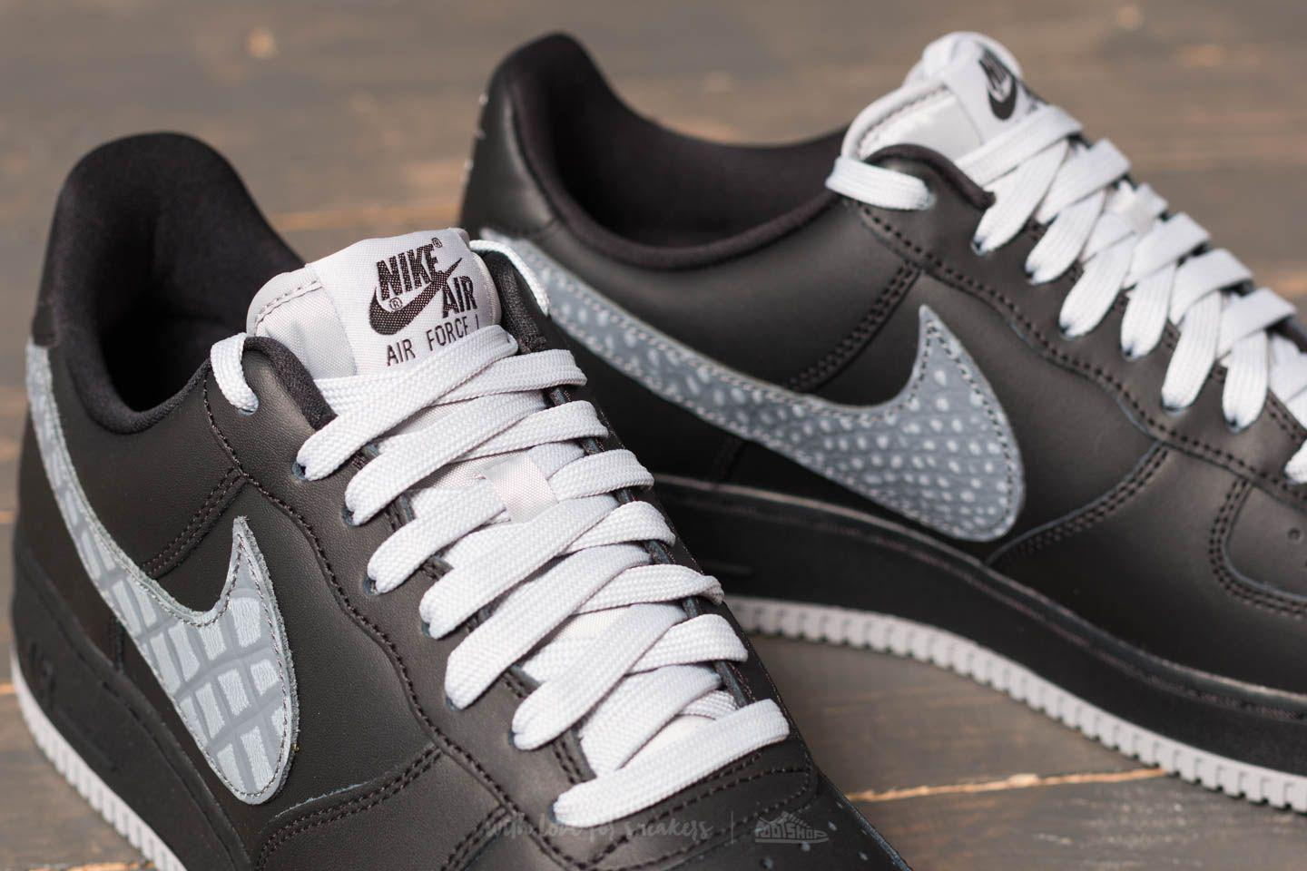 Nike - Gray Air Force 1 '07 Lv8 Black/ Cool Grey/ Dark Grey. View Fullscreen