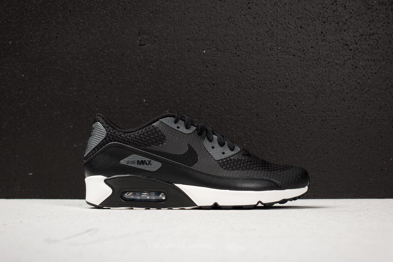 Nike Sportswear AIR MAX 90 ULTRA 2.0 - Trainers - black/dark grey/sail wD5rQpwe