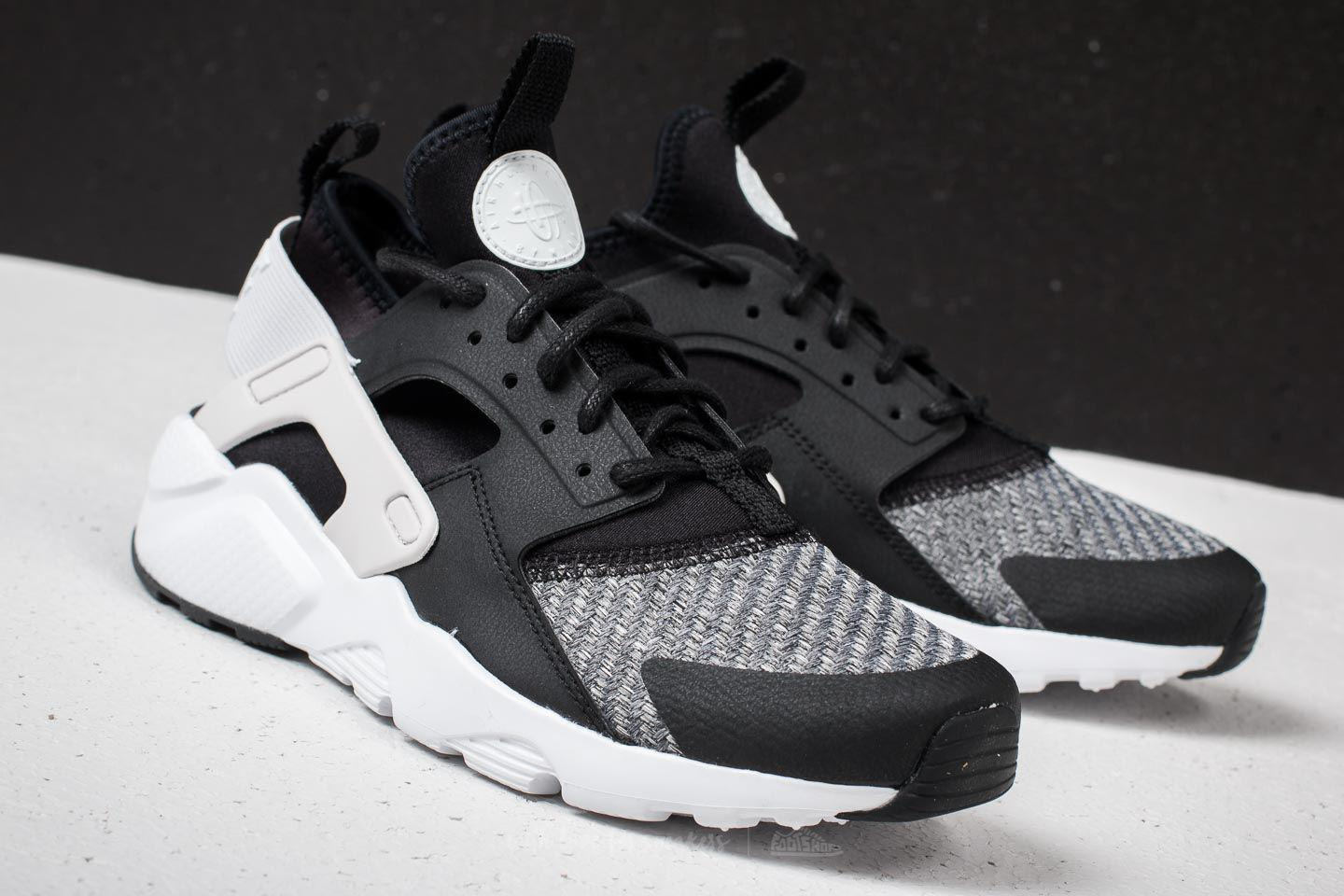 adf89086127c ... new arrivals lyst nike air huarache run ultra se gs black vast grey  white in 69c5d